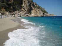Der Strand von Kyra Panagia