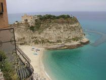 Blick auf Santa Maria Dell'Isola