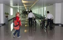 Am Flughafen in Ho Chi Minh Stadt