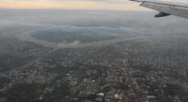 Saigon kurz vor der Landung - Saigon-River