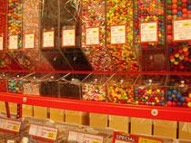 Süßigkeiten in unvorstellbaren Mengen und Sorten