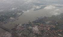 Ho Chi Minh City - Saigon, Blick auf den Saigon-River
