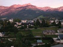 Le soleil se couche sur Villard de Lans
