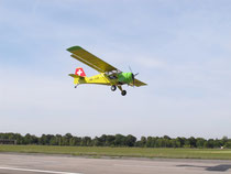Kitfox unmittelbar nach dem Take-off
