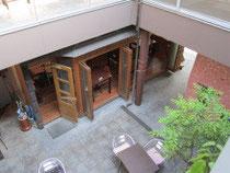 1Fのオーガニックカフェ&オープンカフェ