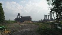 Blick auf das Gelände nach Abriss der Kohlenwäsche (13.09.13)