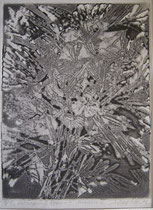 """Ольга Попова. """"Букет"""", травление, 1991"""