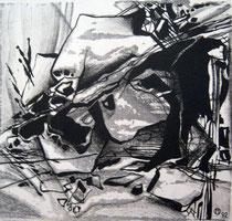 """Ольга Попова. """"Гармония хаоса"""", автолитография, 1992"""