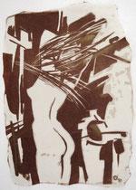 """Ольга Попова. """"Утро"""", автолитография, 1992"""
