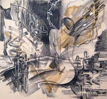 """Ольга Попова. """"Искушение -1"""", автолитография, 1992"""