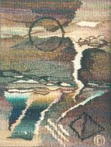 """Ольга Попова,  гобелен """"Об Изиде-1"""" 55х40, 1993, Польша, частное собрание"""