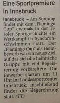 22. April 2017: Tiroler Tageszeitung
