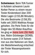 12. Juni 2017: Tiroler Tageszeitung