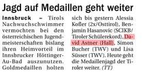 15 März 2015: Tiroler Tageszeitung