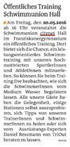 4. Mai 2016: Bezirksblatt