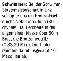 22. Juli 2015: Tiroler Tageszeitung
