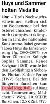 28. Juni 2016: Tiroler Tageszeitung