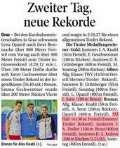 13. November 2015: Tiroler Tageszeitung