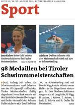 19. August 2015: Bezirksblatt
