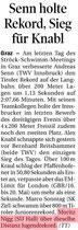11. April 2016: Tiroler Tageszeitung