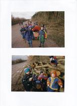 Kindergartenausflug März 2000