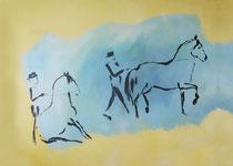 4.) Arbeit an der Hand, Druck auf Papier 50x70: 000.- €