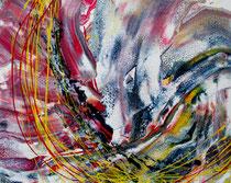KERSTIN SOKOLL, Splash, 2018, K003, 40 x 50 cm