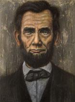 """""""Abe"""", Öl auf Leinwand, 76 x 102 cm, 1500 Euro"""