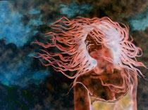 """""""Tanz mit dem Wind - Variante II"""", Digital bearbeitete Fotografie, Dieter Guttau, 80,5 x 60,5 cm, 280 Euro"""