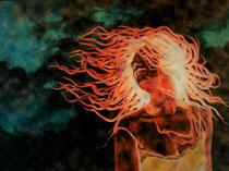 """""""Tanz mit dem Wind - Variante I"""", Digital bearbeitete Fotografie, Dieter Guttau, 80,5 x 60,5 cm, 280 Euro"""