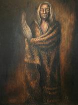 """Black Eagle"", Öl auf Leinwand, 81 x 108 cm, verkauft"