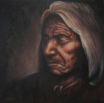 """Composure"", Öl auf Leinwand, 60 x 60 cm, verkauft"