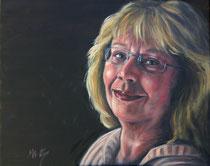 """""""Meine Mutter"""", Öl auf Leinwand, 50 x 40 cm"""