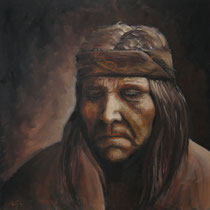 """Reflection"", Öl auf Leinwand, 60 x 60 cm, verkauft"