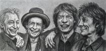 """""""Still Rolling II"""", Kohle und Graphit, 34 x 17 cm, 300 Euro"""