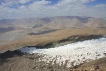 Gletscherzunge am Muztagh Ata