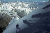 Pik Korschenewskaja (7105m), Pamir, Tadschikistan