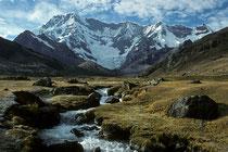 Ausangate (6384m), Cordillera Vilcanota, Peru