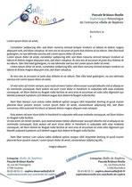 Entête et pied de page pour courriers pour la sophrologue Pascale Bridoux-Ruelle de Bulle de Sophro créées par Cloé Perrotin de l'entreprise Illustr'&Vous