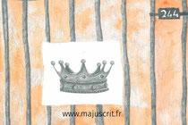 """Maquette pour le livre """"244"""", disponible chez Majuscrit _ Texte de Liliane Gerbail - Illustrations de Julie Demichel - Maquette de Cloé Perrotin"""