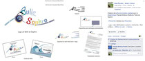 Créations des supports marketing pour la sophrologue Pascale Bridoux-Ruelle de Bulle de Sophro créées par Cloé Perrotin de l'entreprise Illustr'&Vous