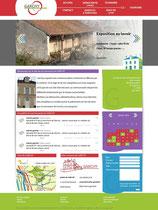 Proposition 1 de maquette, au final refusée pour le site de la mairie de Garchy par Cloé Perrotin