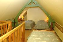 la mezzanine de la 2ème chambre (3 lits 90)