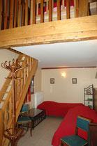 le rez-de-chaussée de la 1ère chambre (2 lits 90)