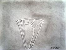 Xenia Kern (15 Jahre), 2016, Bleistift und Graphit, 21 x 29,5 cm