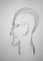 Martha Stirner, 2014, Bleistift, 29,5 x 21 cm