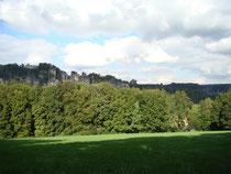 Blick auf die Bastei