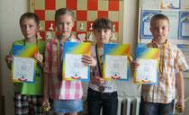 ІІІ місце: Тімаков Р., Бондар С., Євдоченко І., Яременко А.