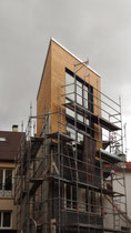 ©Romadeco, isolation des façades, surélévation ossature bois et fibre de bois