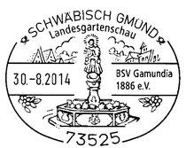 Sonderstempel des BSV Gamundia 1886 e.V.